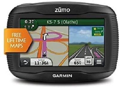 Garmin Zumo 390LM 4.3-Inch Motorcycle GPS Navigator-(Certified Refurbished)