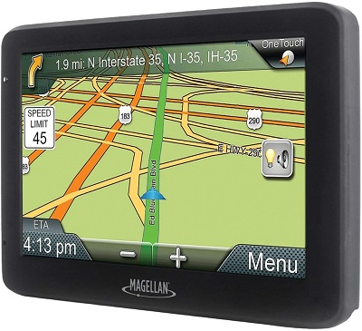 "Magellan RM5520GLUC Roadmate 5520-lm 5"" GPS Device with Free Lifetime Maps"
