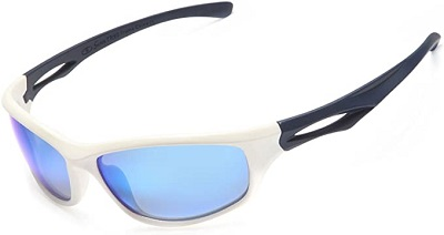Siren Polarized Sports Sunglasses w Case TR90 Unbreakable Frame - Choose Your Style & Color