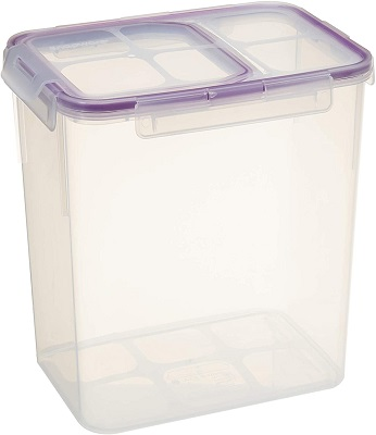Snapware 23-Cup Airtight Flip Storage Container, Plastic