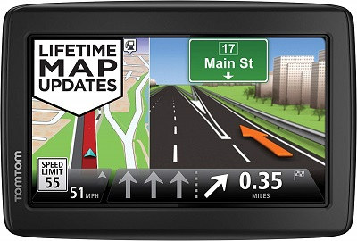 TomTom VIA 1505M World Traveler Edition 5-Inch Portable Touchscreen Car GPS Navigation Device
